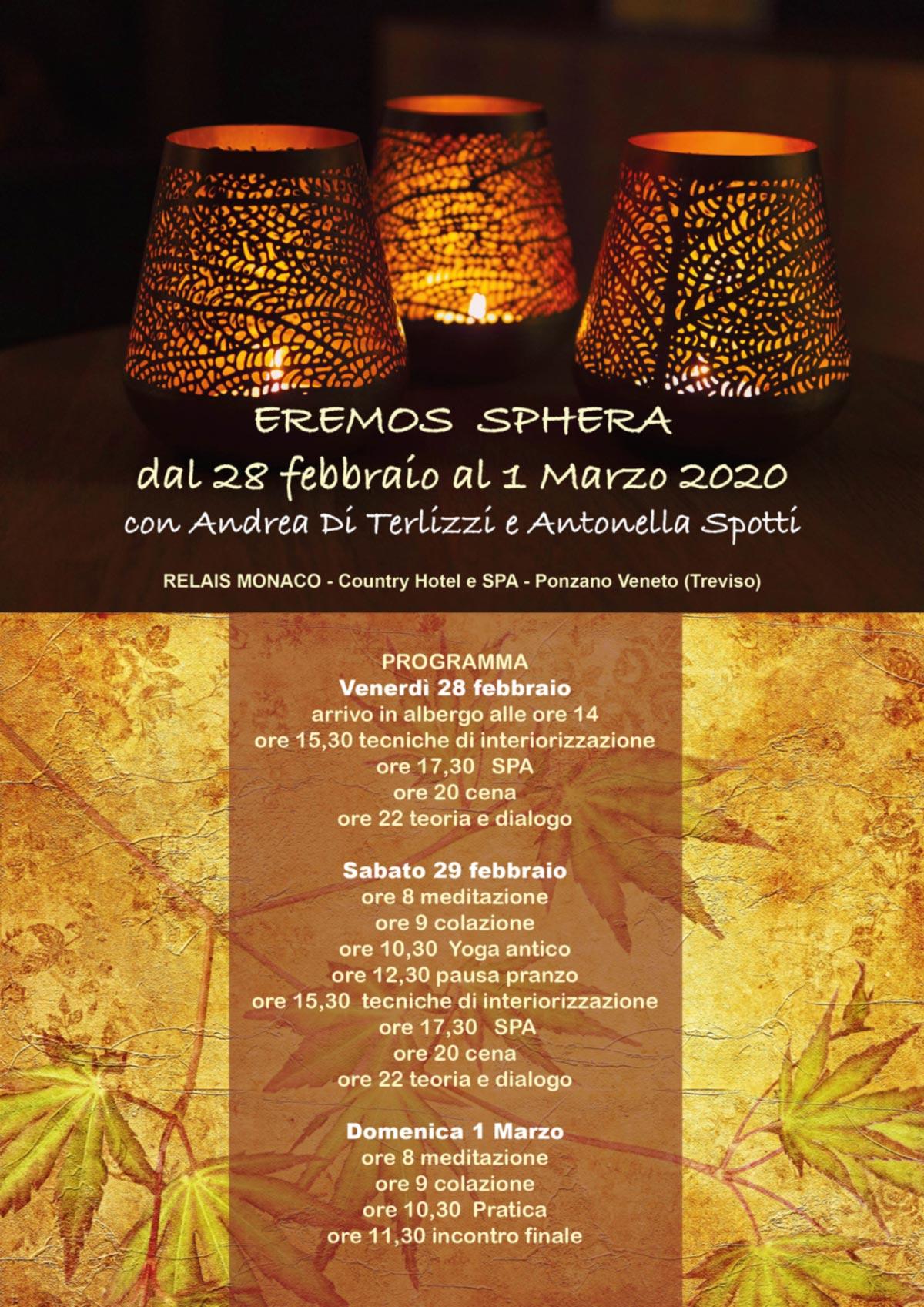 Eremos Sphera - 28 febbraio 1 marzo 2020